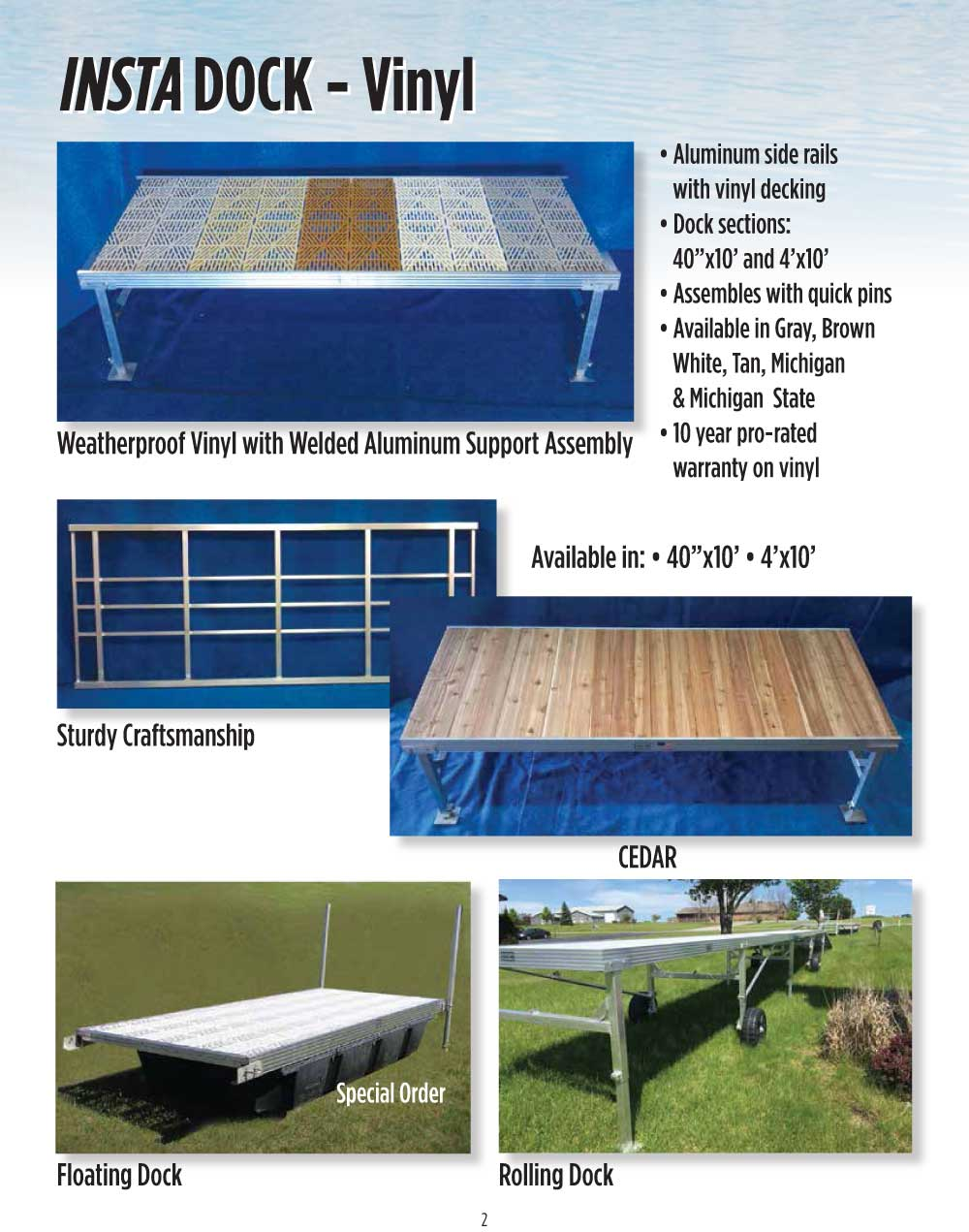 Insta Dock By Twin Bay Docks Amp Products Savin Lake